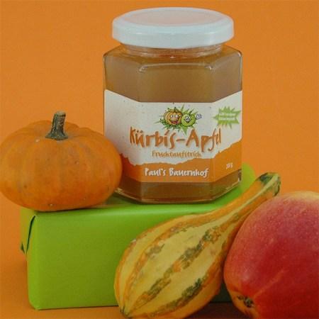 Kürbis-Apfel Fruchtaufstrich