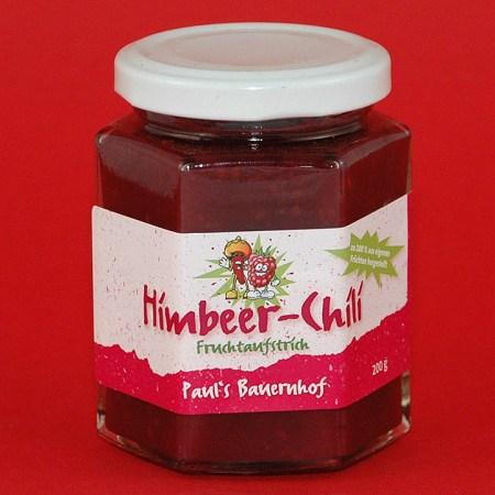 Himbeer-Chili Fruchtaufstrich
