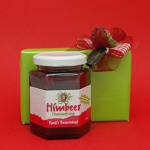 Raspberries marmelades
