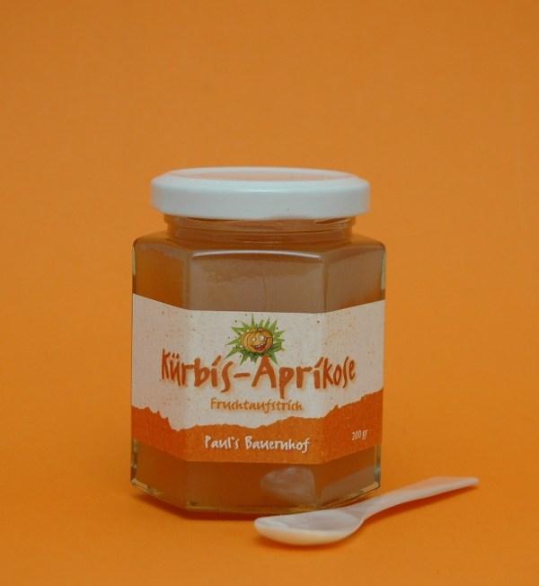 Kürbis-Aprikose Fruchtaufstrich