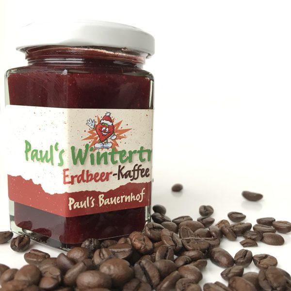 Erdbeer Kaffe Wintertraum