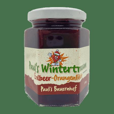 Wintertraum Erdbeer-Orangenlikör