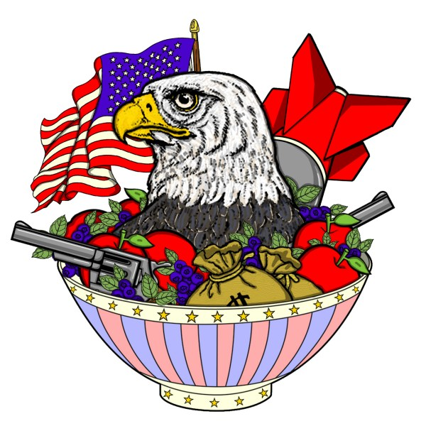 Paul S OConnor Bowl of Freedom USA America