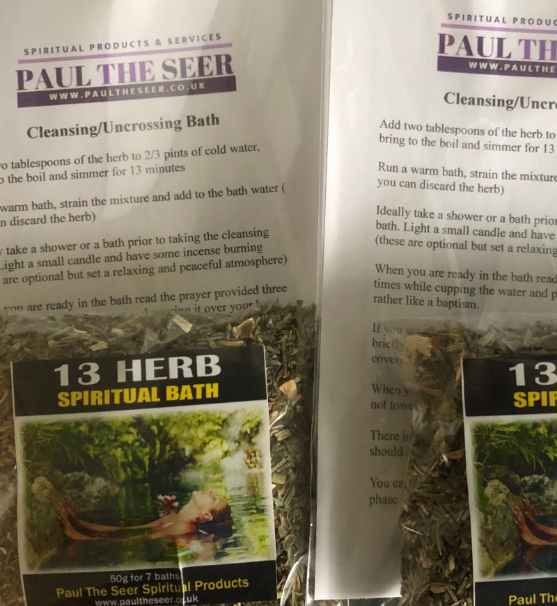 13 Herb Spiritual Bath Kit