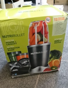 Fake NutriBullet Box