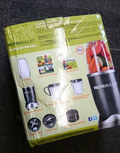 Fake NutriBullet Box Back