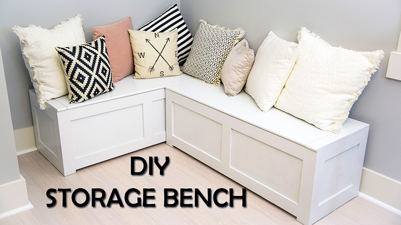 Kitchen Nook Storage Bench Diy Paul Tran Diy