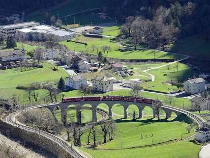 Rhaetian Railway and Bernina Express, UNESCO WH Site
