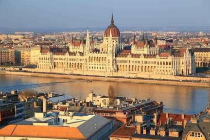 Hongarije Budapest Parlement