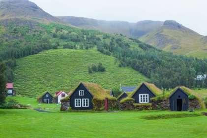 IJsland IJslandse huizen