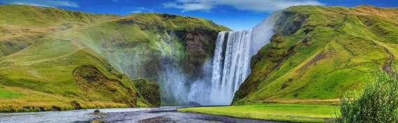 IJsland Seljaloands foss Falls