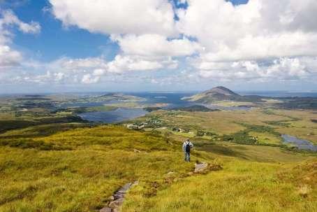 Ierland connemara landschap