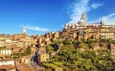 Italie Siena stadsgezicht