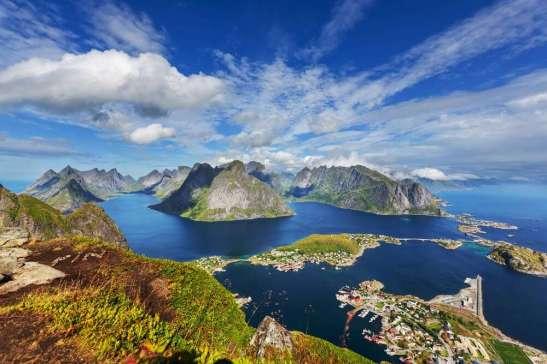 Noorwegen Lofoten view