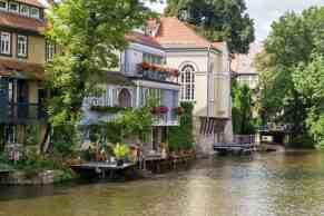 Fluss Gera in Erfurt