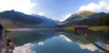 Spiegelung am Jägersee
