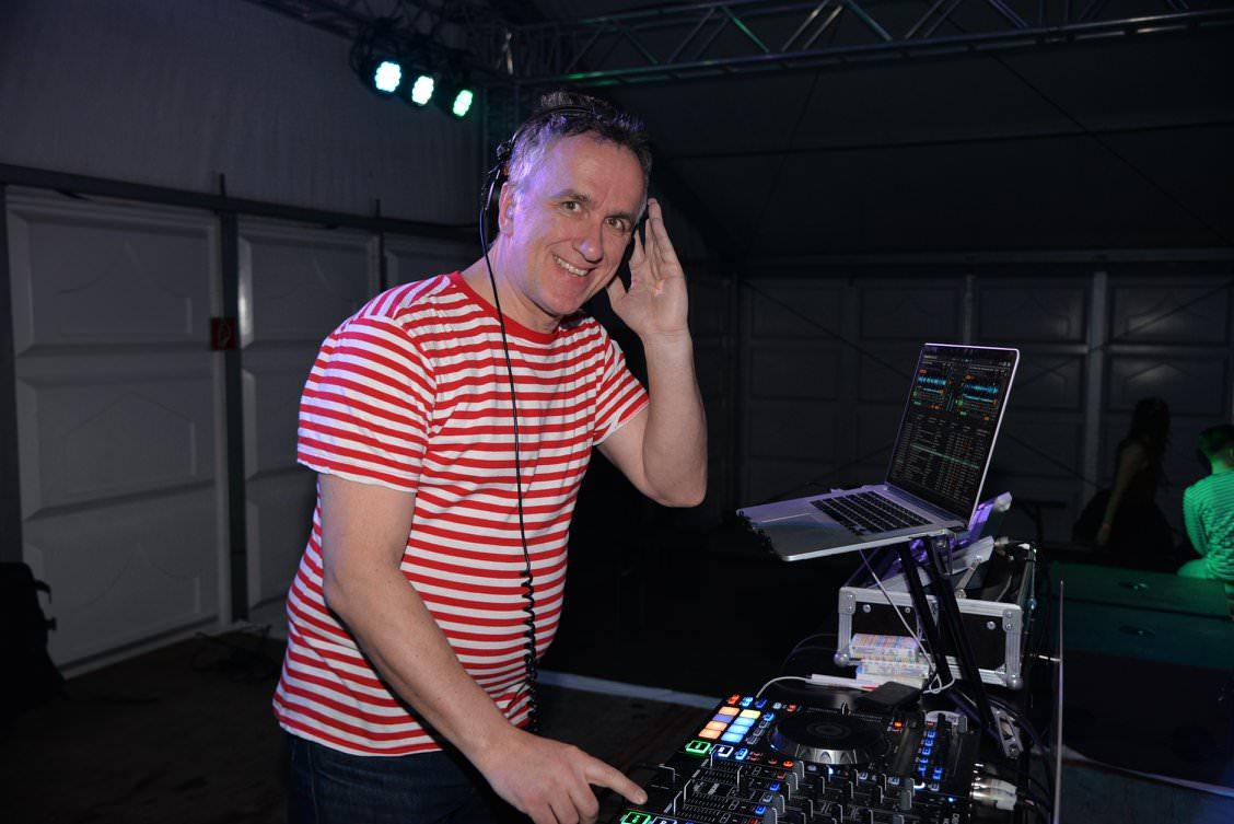 Auch als DJ viel Spaß im Forum-Park