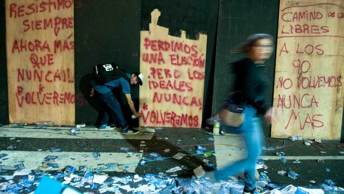 Fotos: Santiago Cichero / Revista Anfibia