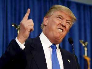 Donald Trump quiere poner un muro en México y expulsar a los musulmanes.