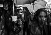 Buenos Aires, Octubre 2016. Marcha en protesta de la violencia contra las mujeres y en solidaridad por el brutal asesinato de una niña de 16 años en Mar del Plata. Autor: Eitan Abramovich.