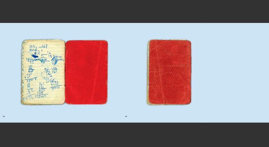 Libreta roja - Joaquin Areta - contratapa