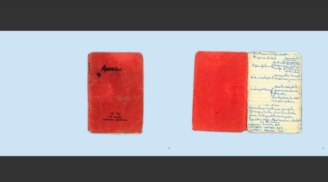 libreta roja - Joaquin Areta