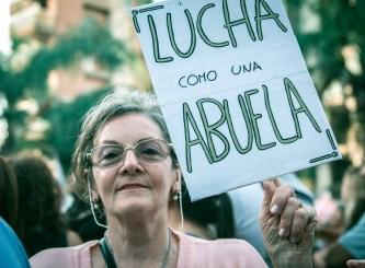 El 24 de marzo estuvimos una vez más en la plaza de Mayo. Foto: Mauricio Centurión.