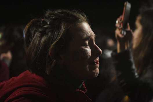 El 8 de agosto está terminando. El Senado votó en contra del derecho al aborto legal. Foto: Mauricio Centurión.