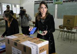 María Eugenia Bielsa, precandidata a gobernadora (Encuentro-PJ)