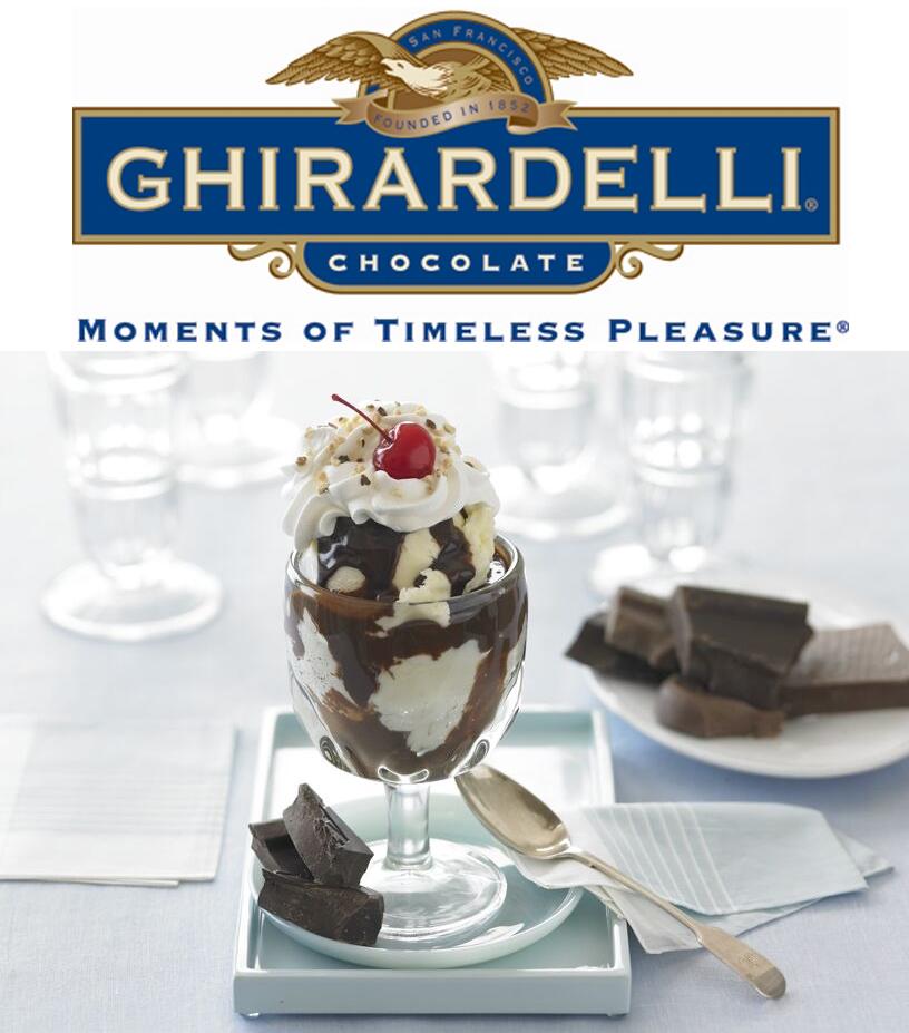 Ghiradelli Chocolate Sundae