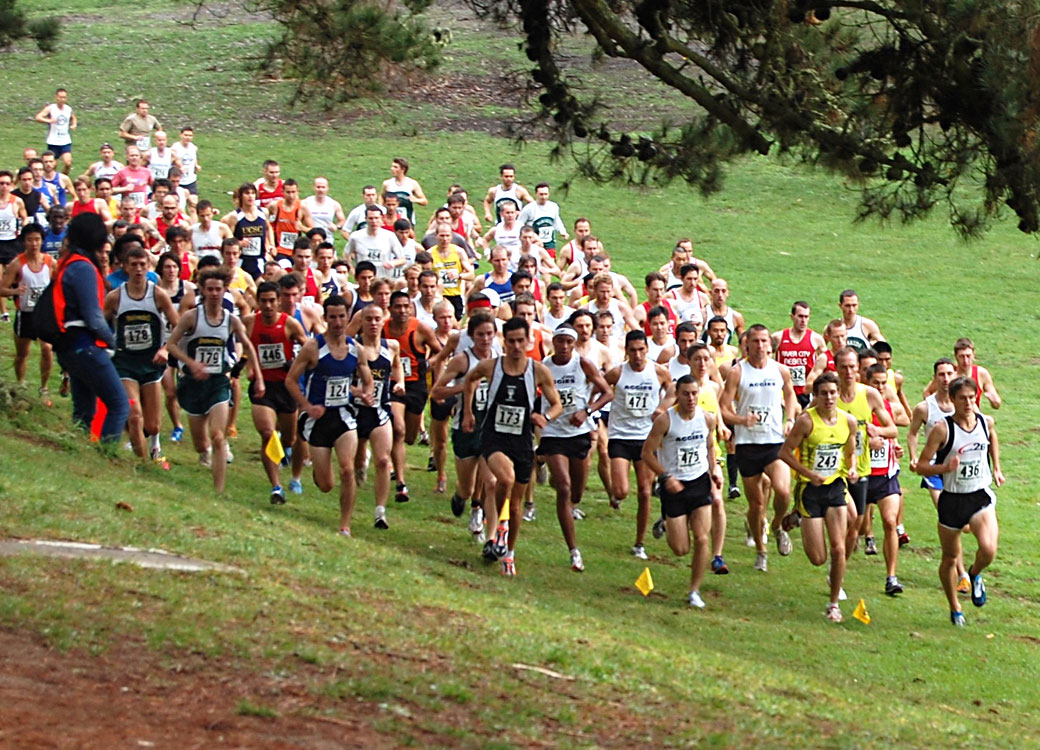 Golden Gate Park XC Men's Start