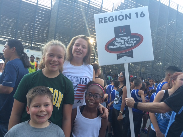 2016 JOs - Getting REady for the Opening Ceremonies