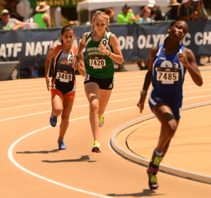 2016 JOs Woodside Wildebeest Kyra Pretre #7420, 13-14 Girls 800m