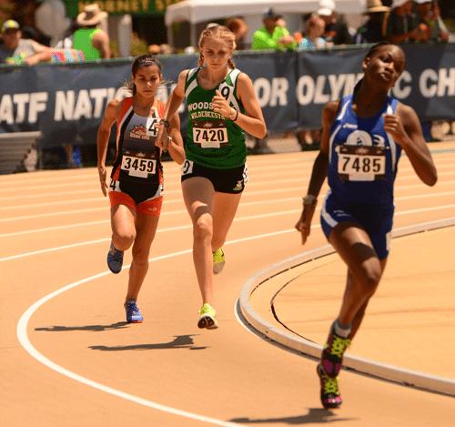 2016 JO Kyra Pretre13-14 Girls 800m Trials