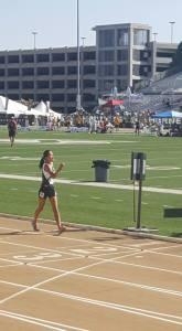 Rebecca Lu, Castro Valley TC, Girls 15-16 3000m RW - 7th
