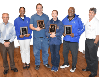 PAUSATF 2016 Service Award Recipients