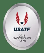 2018 USATF Sanctioned logo
