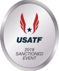 2018 USATF Sanctioned logo