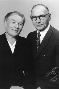 Ruth och Villehard Norman