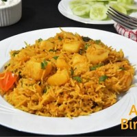 Aloo Biryani Recipe | Potato Biryani Recipe