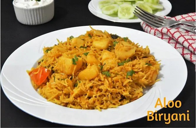 Aloo Biryani Recipe