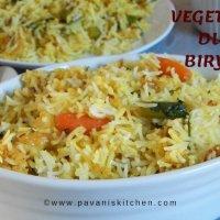 Vegetable Dum Biryani | How To Make Veg Biryani
