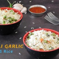 Chilli Garlic Fried Rice | Easy Chilli Garlic Rice