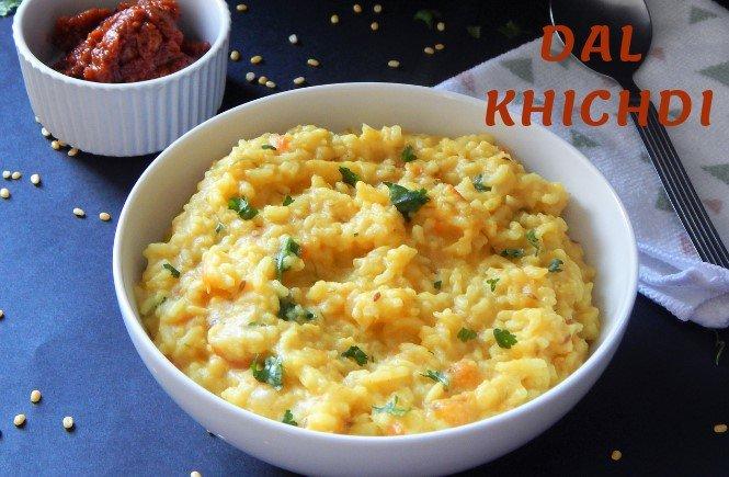 Dal Khichdi