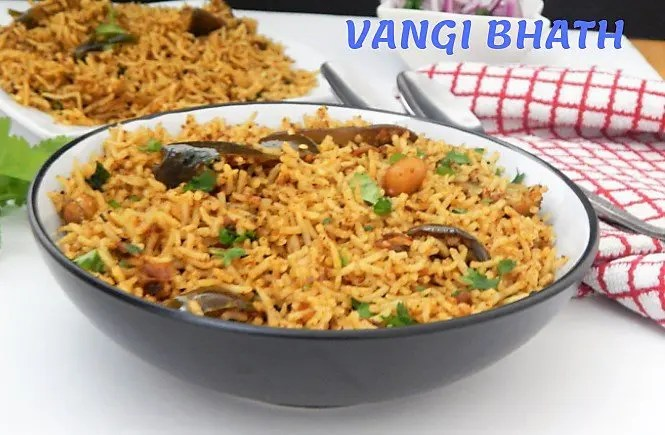 Vangi Bhath Recipe