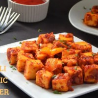 Chilli Garlic Paneer Recipe | How to make chilli garlic paneer