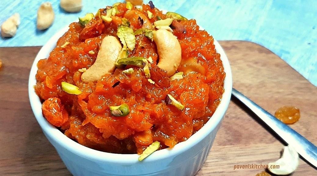 Instant Pot Carrot Halwa