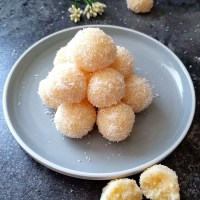 Instant Coconut Ladoo With Condensed Milk
