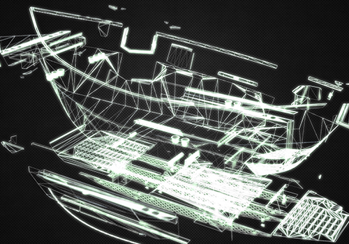 Pavati Helium Drift Boat Wire Frame Expanded