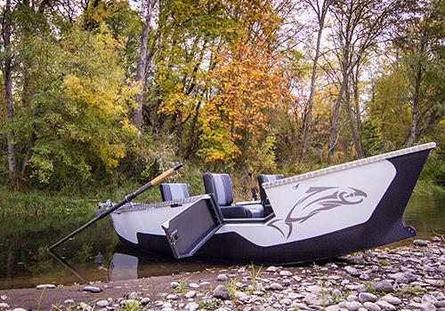 Pavati Warrior Drift Boat in Fall